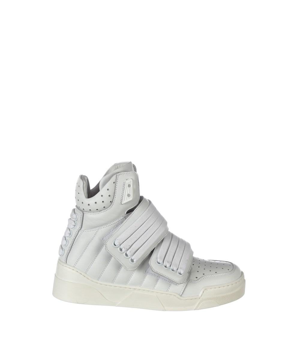 velcro hi-top sneakers - White Les Hommes d6VouL
