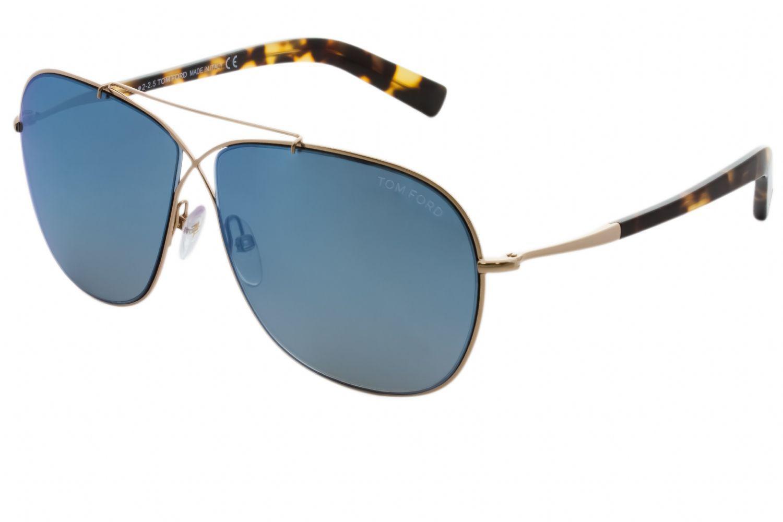 cdcf4f55cb20 Tom Ford - Blue Ft0393 April Men Sunglasses for Men - Lyst. View fullscreen