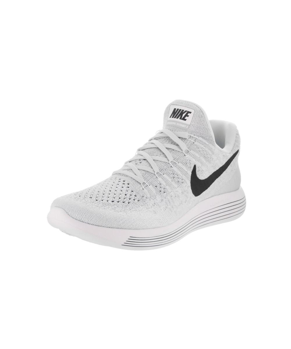 00ff45d2bdd1 Lyst - Nike Women s Lunarepic Low Flyknit 2 Running Shoe in White
