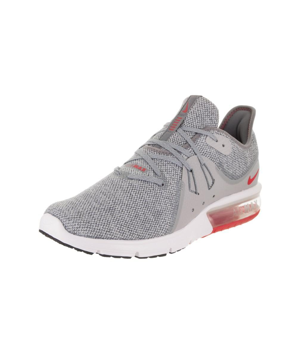 Lyst Nike Hombres Air Max En Sequent 3 Running Zapato En Max Gris Para Hombres dfb7ca