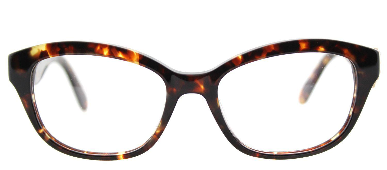 8e93c5ac4b5 Kate Spade - Amelina Z61 51mm Brown Rectangular Eyeglasses - Lyst. View  fullscreen