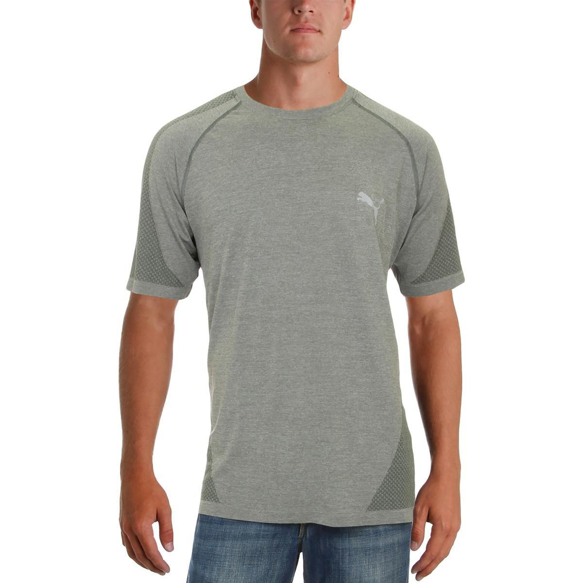 Lyst Puma Mens Printed Performance T shirt in Gray for Men