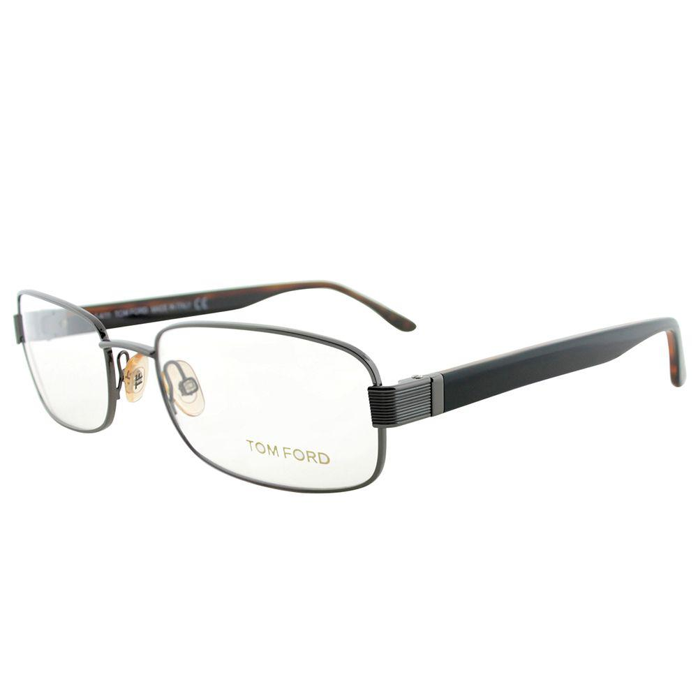 e6a586330e81 Lyst - Tom Ford Ft 5092 772 54mm Silver Rectangle Eyeglasses in Metallic
