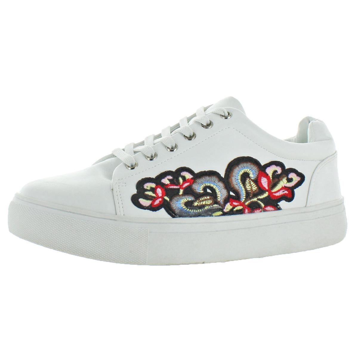 1a6e90ce1fb Steve Madden. White Womens Audrina Ankle-high Padded Insole Fashion Sneakers
