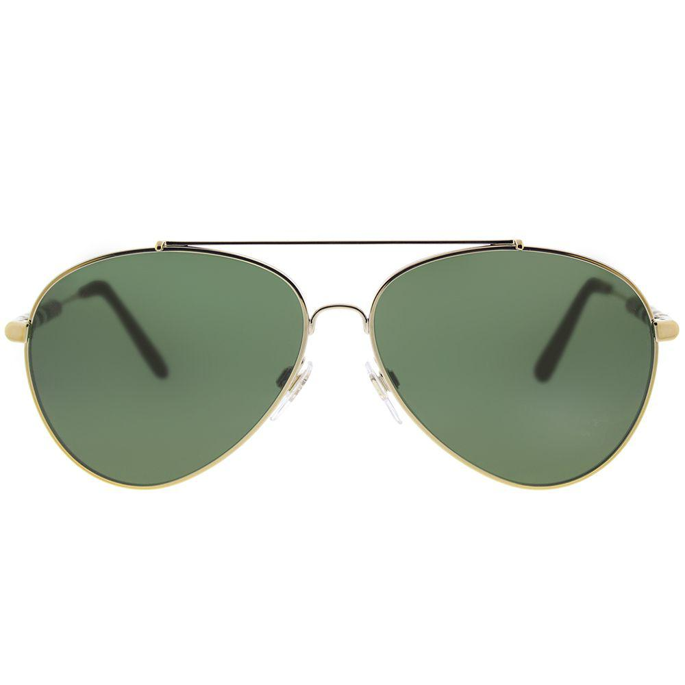 20b6e8600a12 Lyst - Burberry Be 3092q 114571 57mm Light Gold Aviator Sunglasses