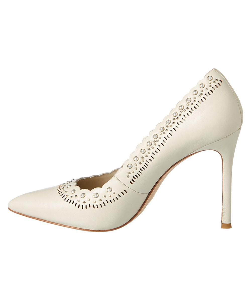 Pour La Victoire Cerella Leather Pump pwdxl