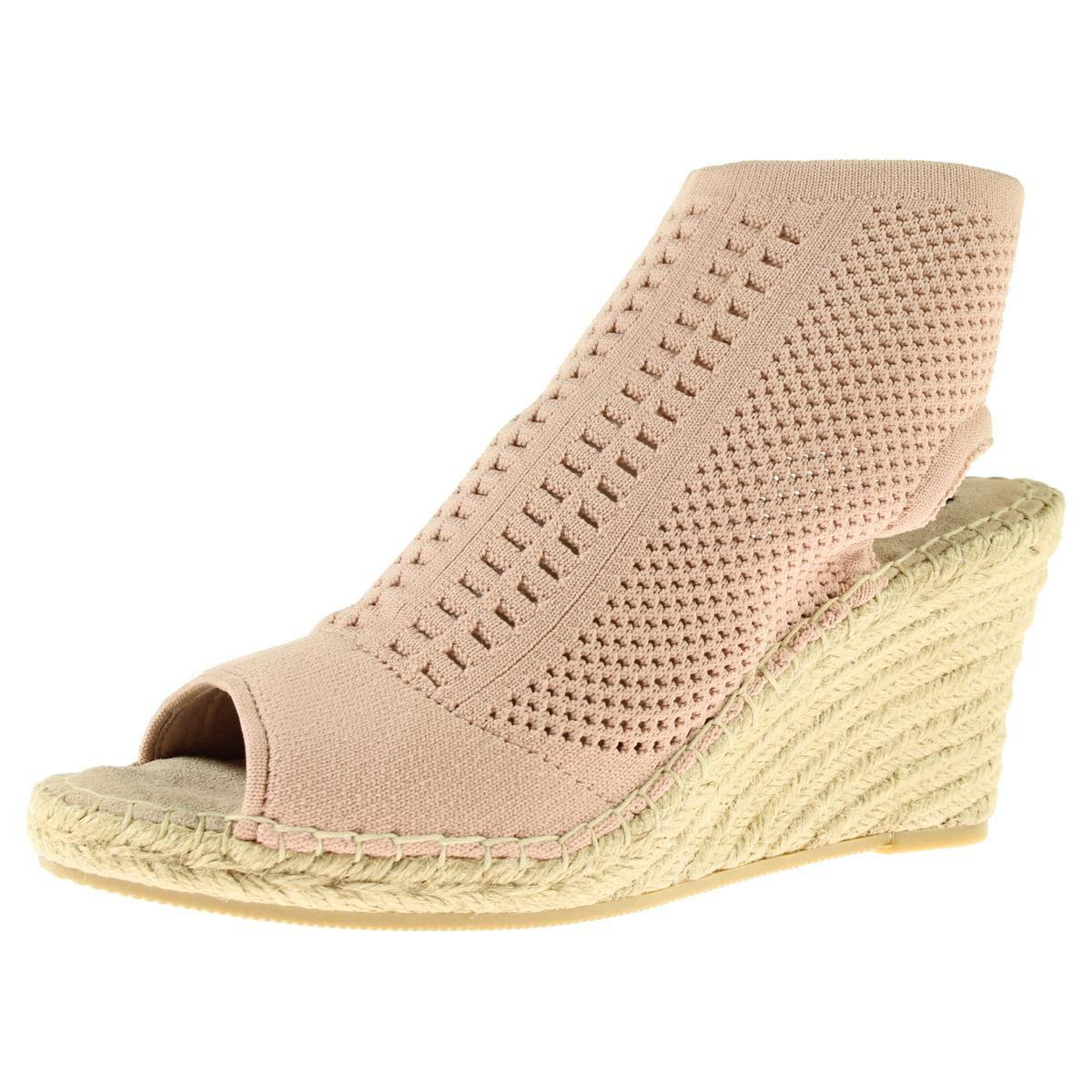 cc0b1bcec15 Lyst - Steven By Steve Madden Womens Evers Open Toe Perforated Wedge ...