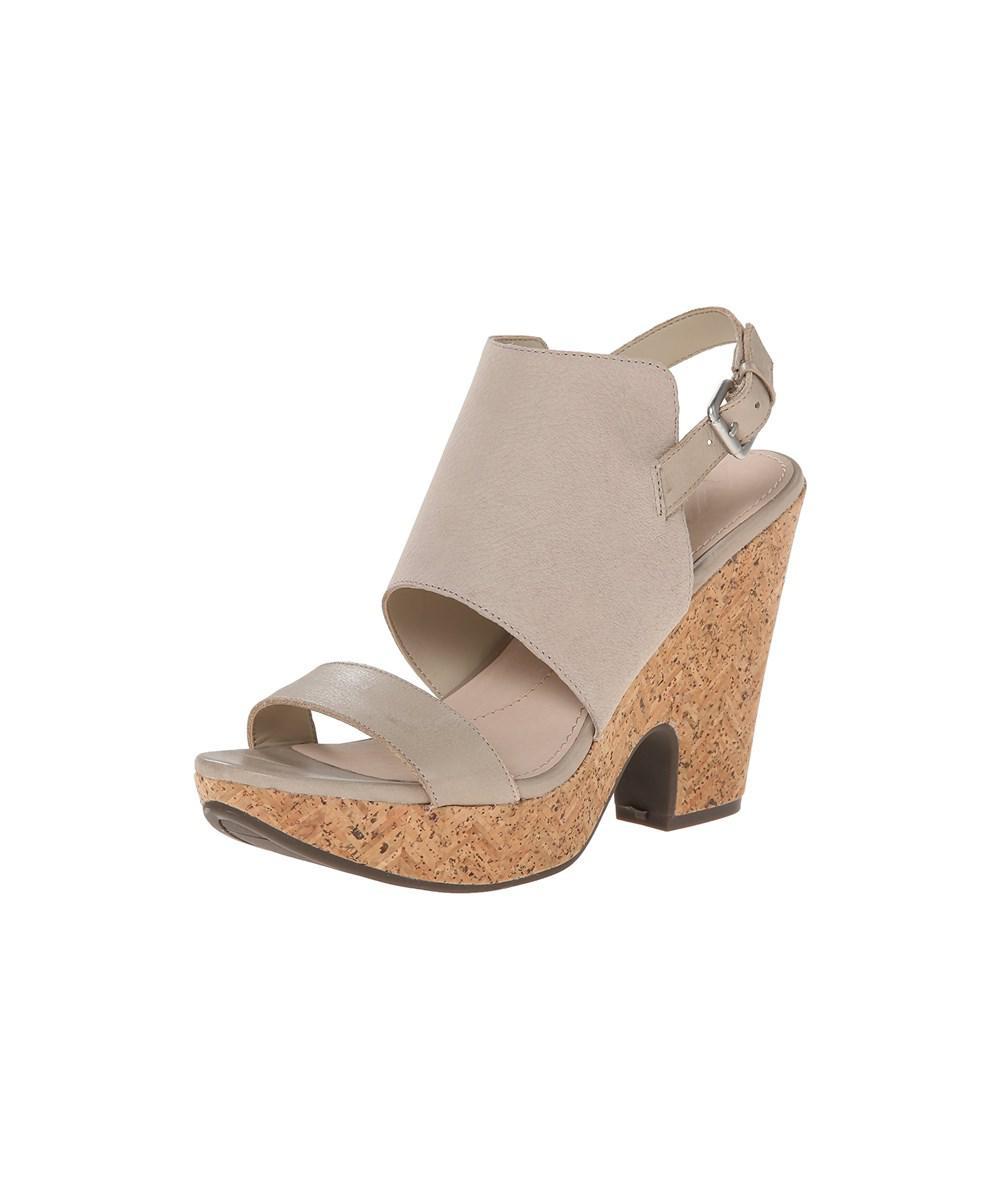 7df2322cbece Lyst - Naya Women s Misty Wedge Sandal in Brown