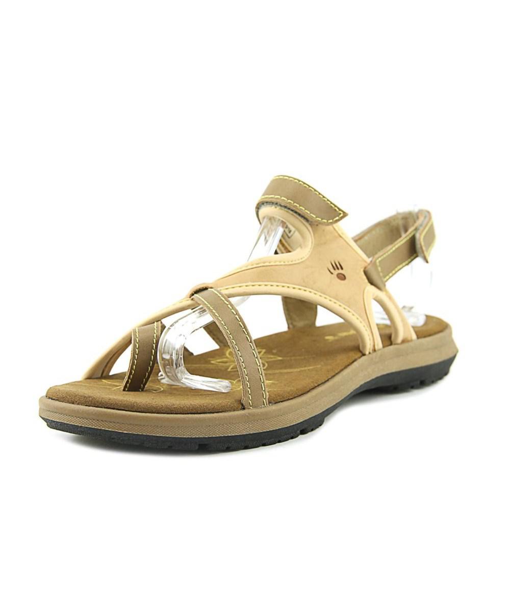bd1c3147544c Lyst - Bearpaw Marlene Women Open-toe Synthetic Tan Slingback Sandal