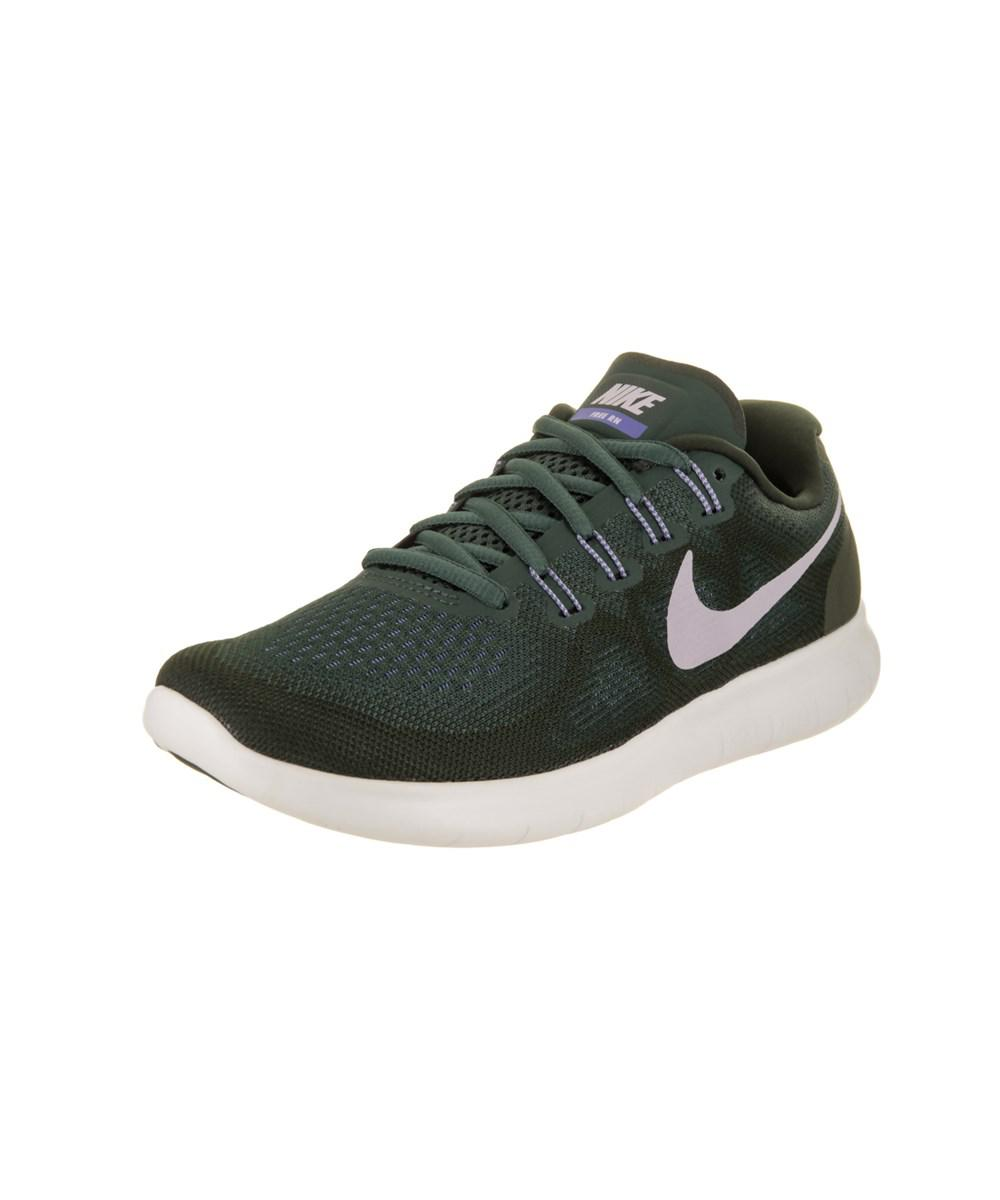 d319b32061f Lyst - Nike Women s Free Rn 2017 Running Shoe in Green