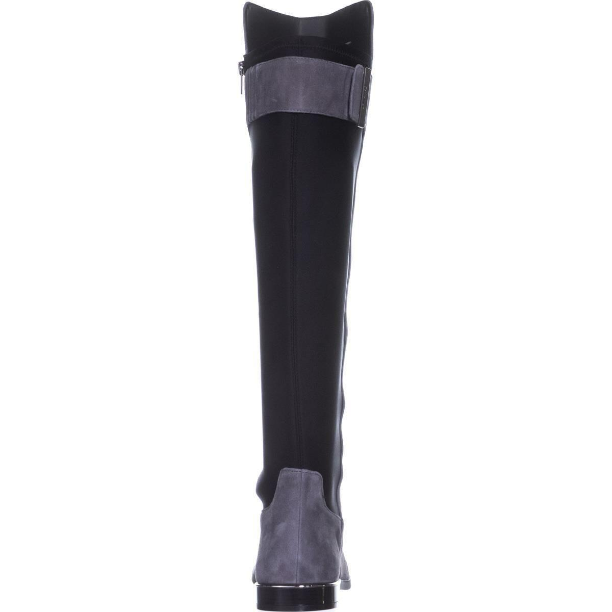 e4f8610f920 Lyst - Calvin Klein Priya Wide Calf Knee-high Boots