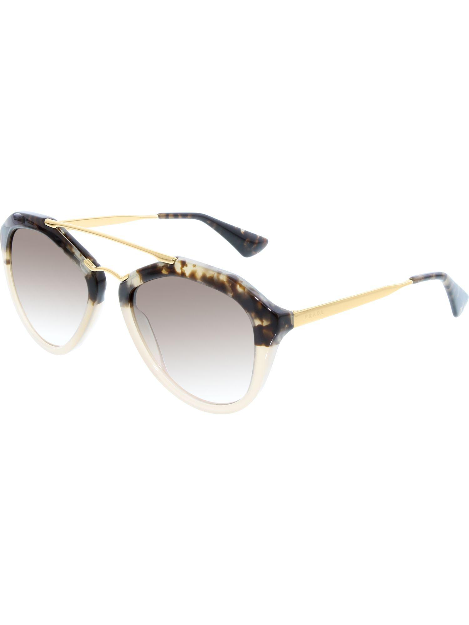 0c73d2c7c4 Prada. Women s Gradient Pr12qs-roz0a6-54 Brown Aviator Sunglasses