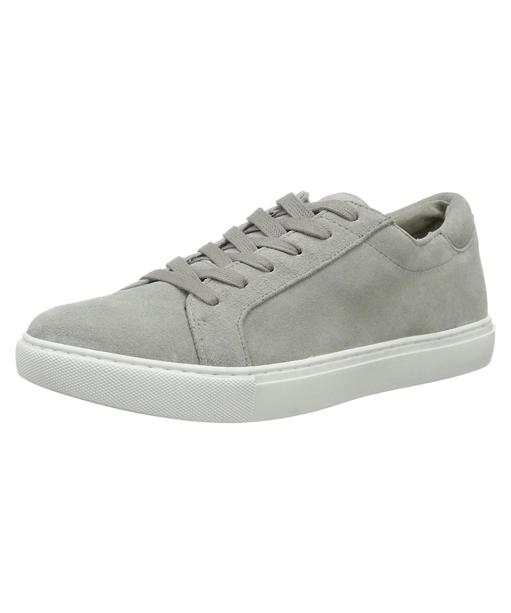 Womens Kam Low-Top Sneakers, White, Medium Kenneth Cole