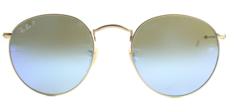 135e1731fb2 Ray-Ban - Metallic Round Metal Rb 3447 112 4l Gold Round Sunglasses -. View  fullscreen