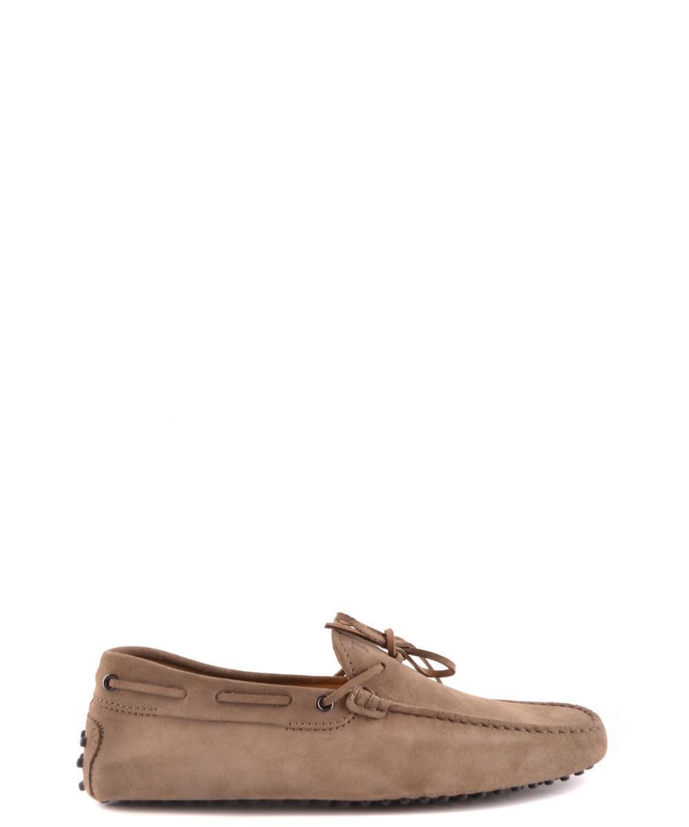 Men's MCBI267013O Brown Suede Loafers
