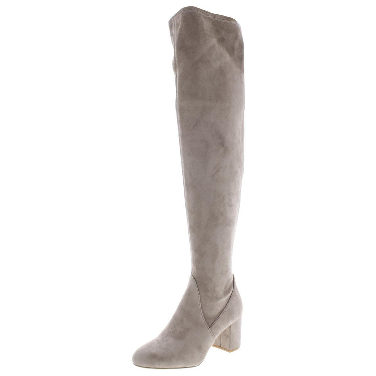 8f65d66ff6b INC International Concepts. Natural Inc Womens Rikkie Faux Suede Fashion  Over-the-knee Boots