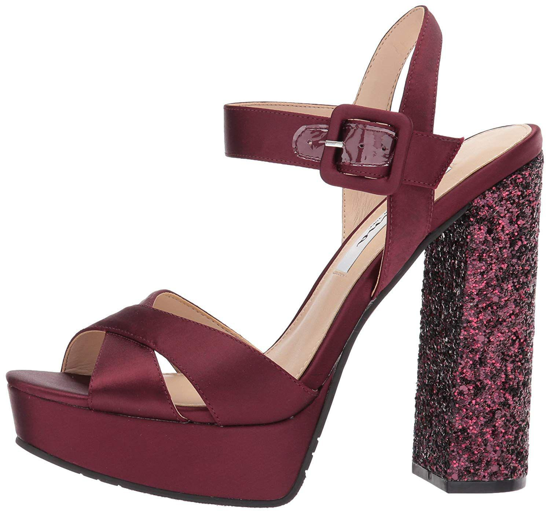 4a356d4c86 Lyst - Nina Women's Savita Platform Dress Sandal in Red