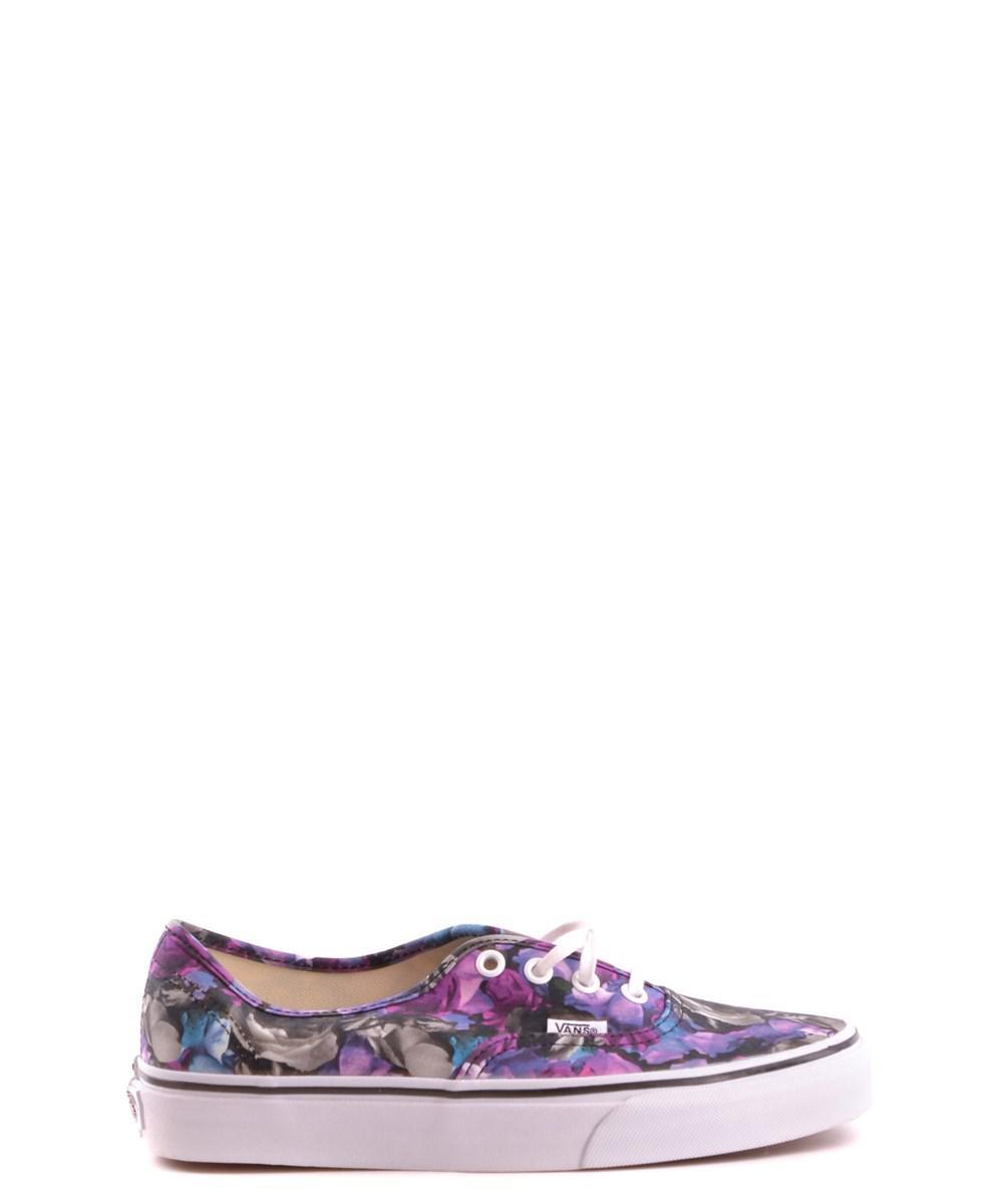 021d81500f Vans - Women s Purple Fabric Sneakers - Lyst. View fullscreen