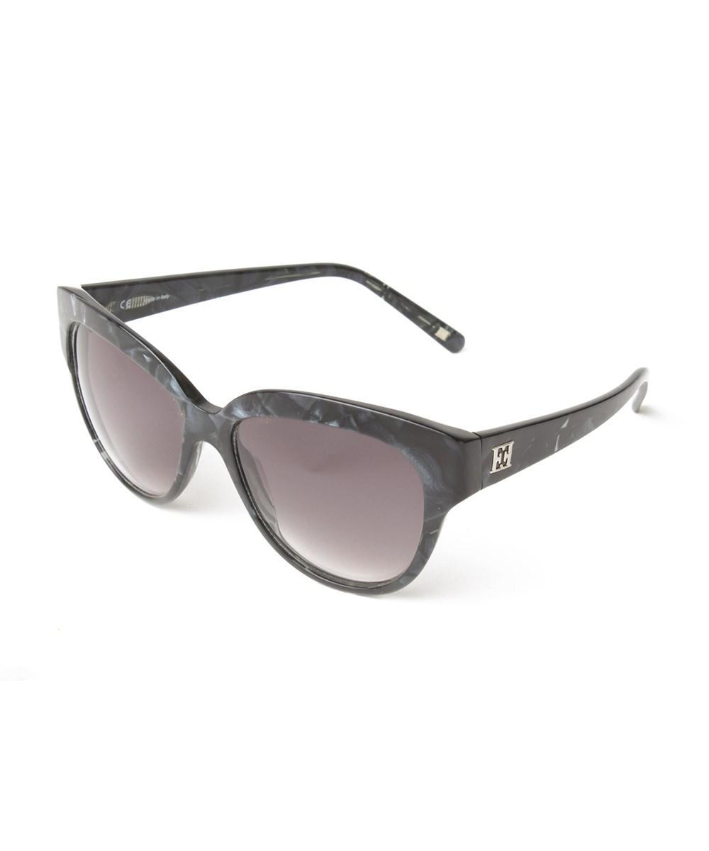 92db462a1d Lyst - Escada Women s Cat-eye Sunglasses Blue Tortoise in Blue