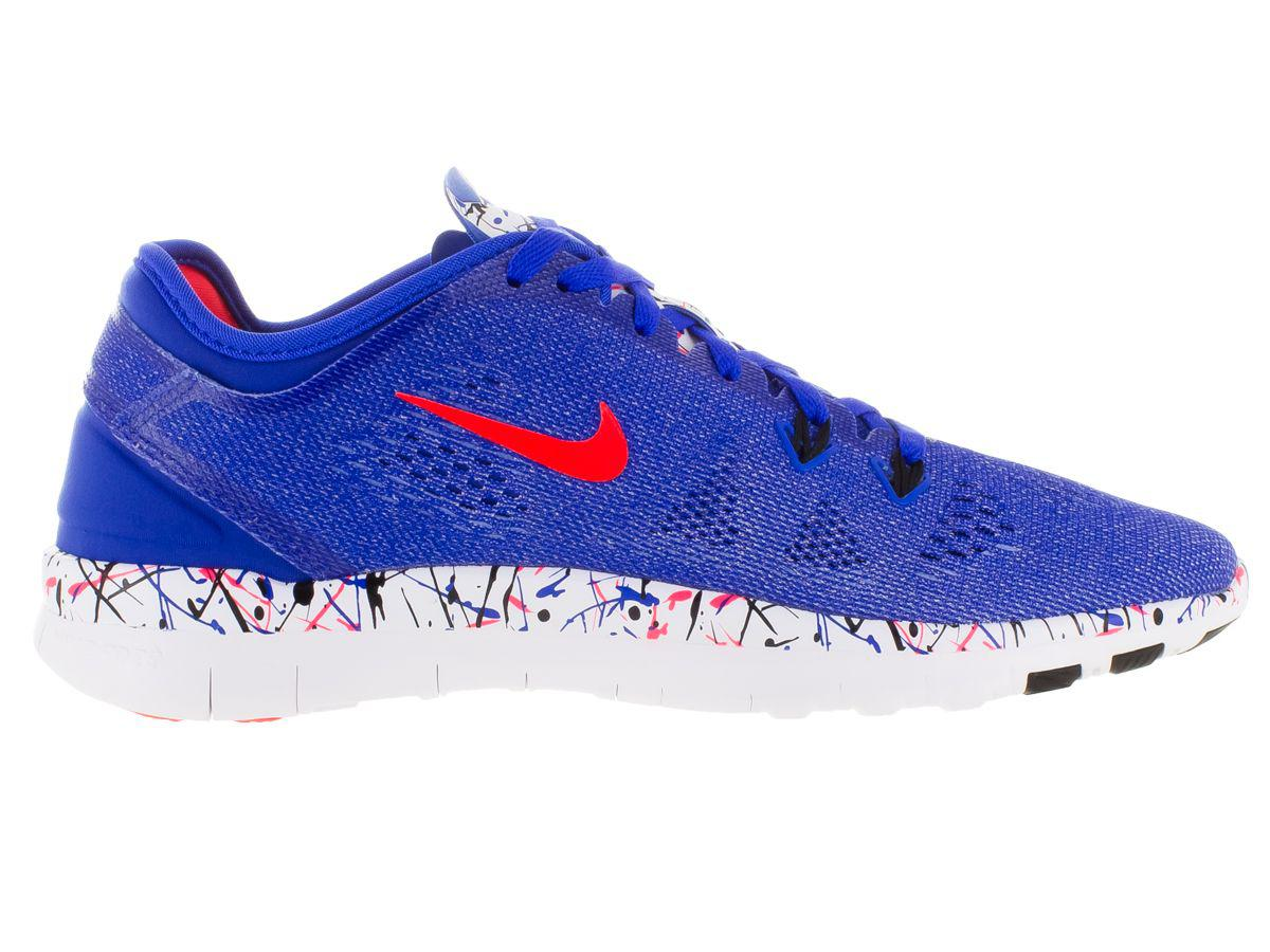 896dfec617af5 Nike - Blue Women s Free 5.0 Tr Fit 5 Prt Training Shoe - Lyst. View  fullscreen