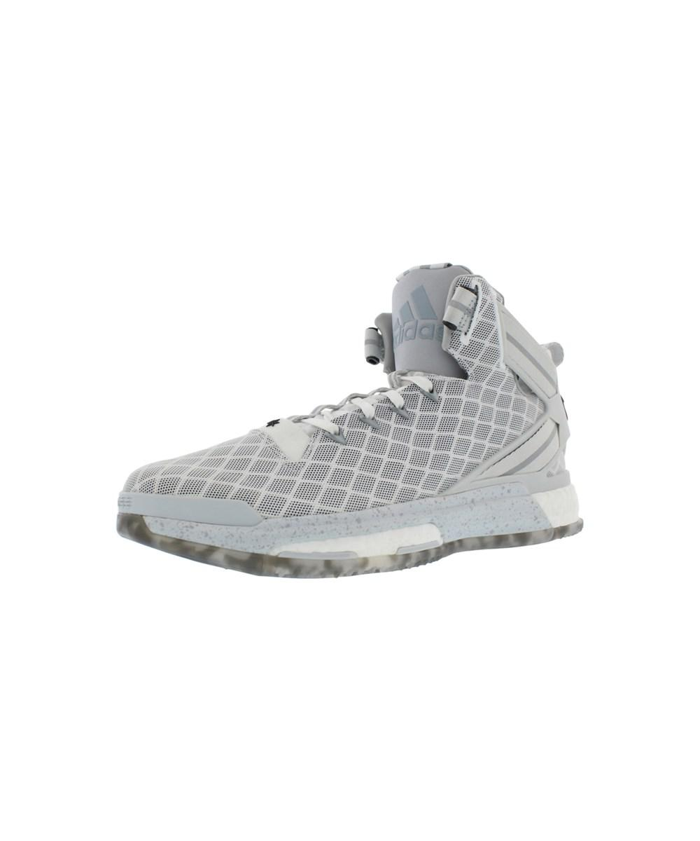 98ec57eaa611 Lyst - Adidas D Rose 6 Boost Basketball Men s Shoes Size in White ...