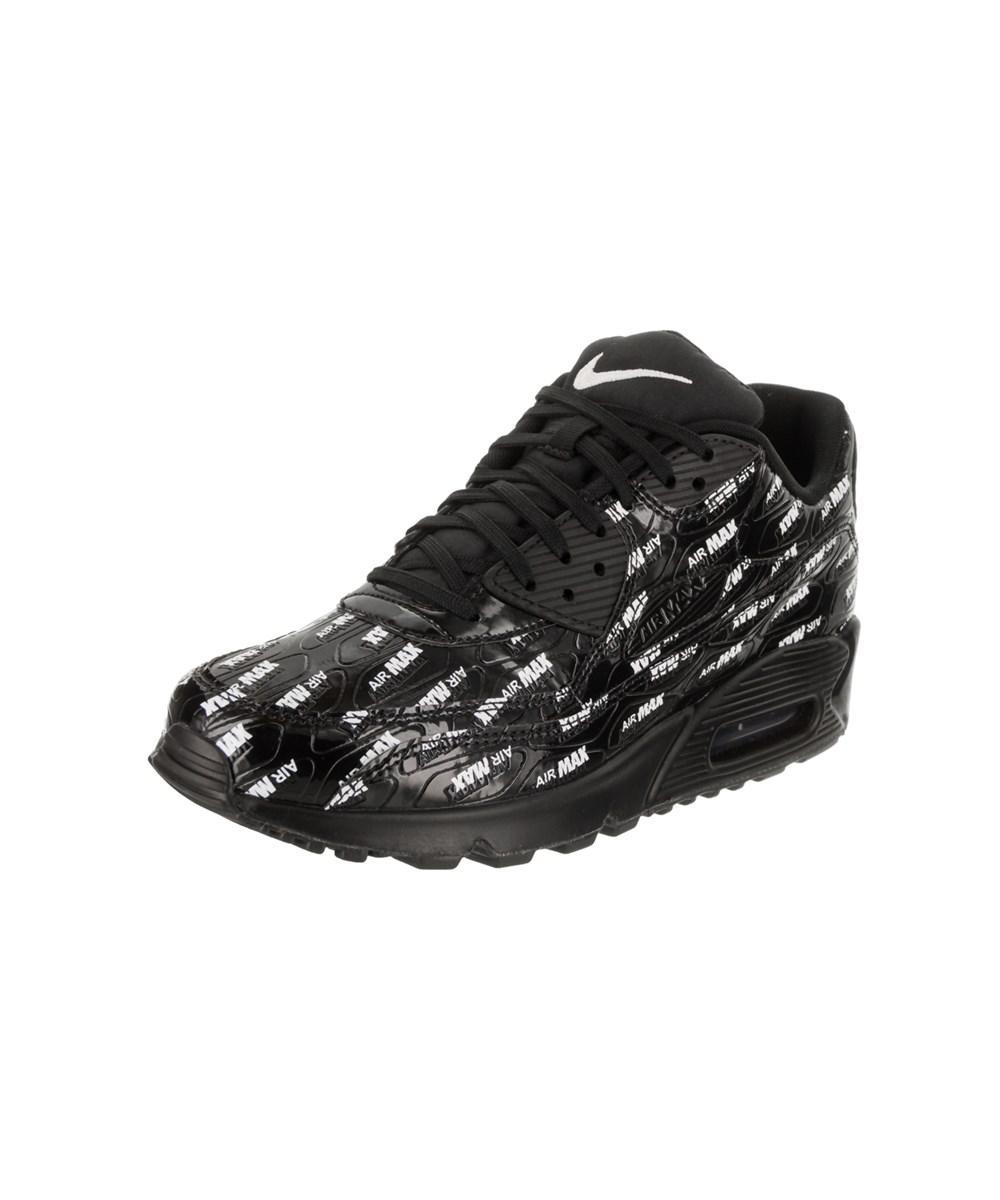 new arrival 61271 307e2 Nike. Black Men s Air Max 90 Premium Running Shoe