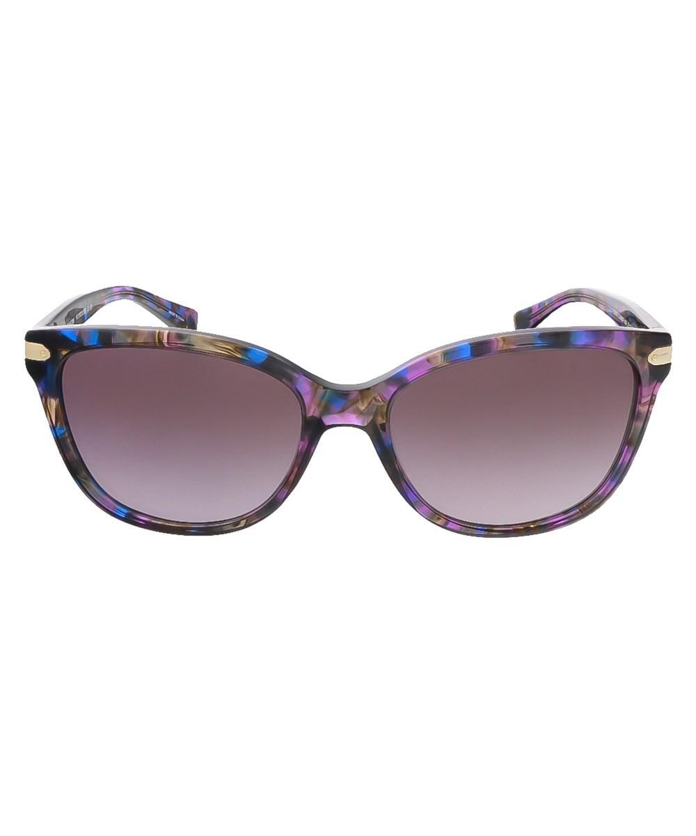 22e16037ac Coach HC8040BF Sunglasses Coach Source · Lyst Coach Hc8132 52888h Confetti  Purple Rectangle Sunglasses in