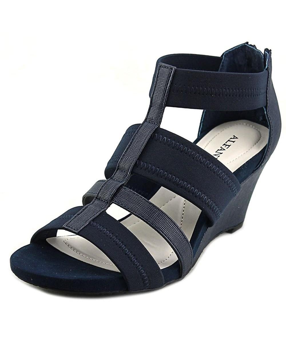 82acb068262 Lyst - Alfani Womens Mavenn Open Toe Casual Platform Sandals in Blue