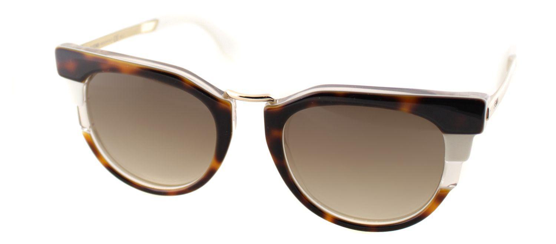 8f74e44f496 Lyst - Fendi Ff0063 Muv Brown Cat-eye Sunglasses in Brown