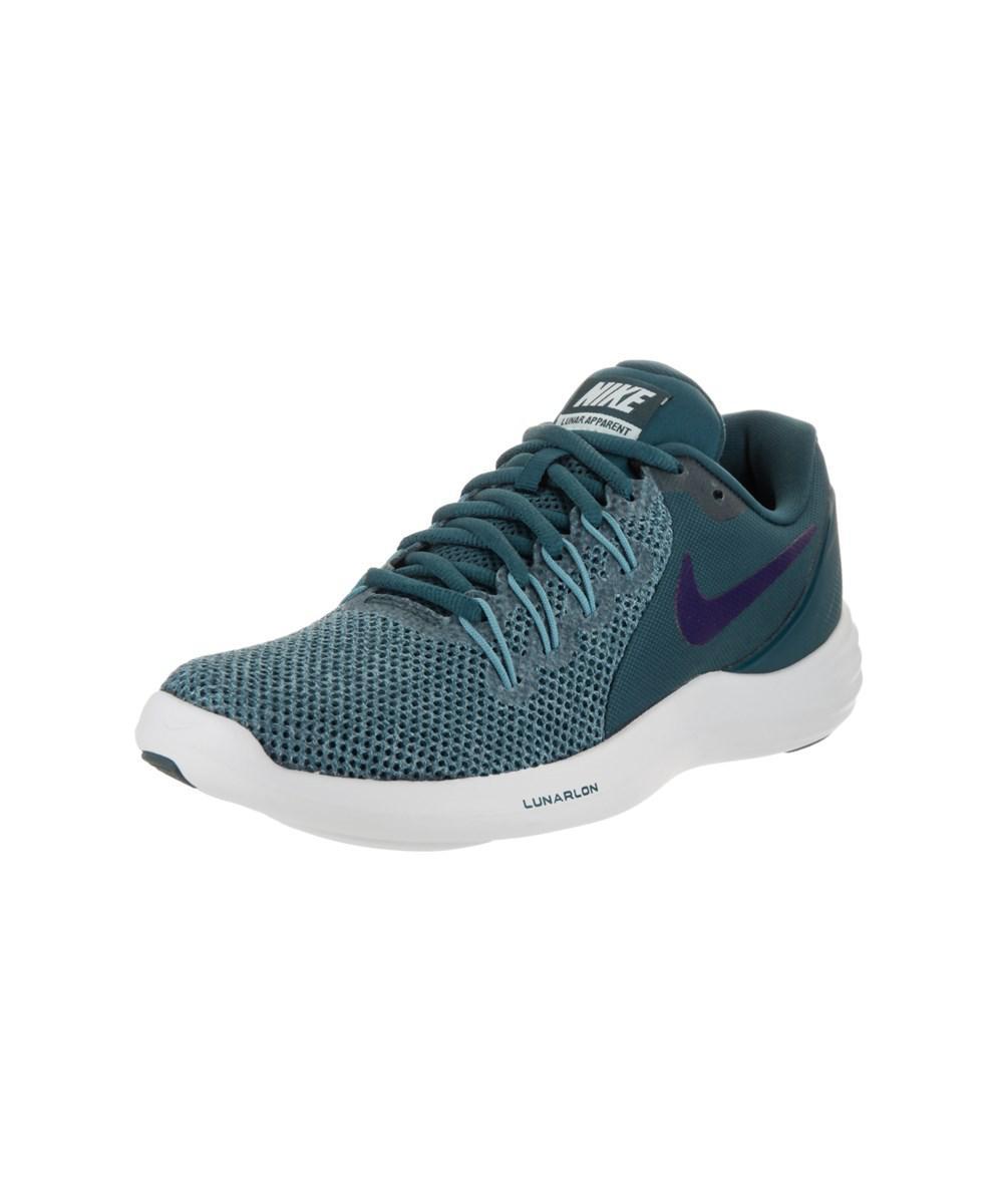 4ff019f7e77 Lyst - Nike Women s Lunar Apparent Running Shoe in Blue