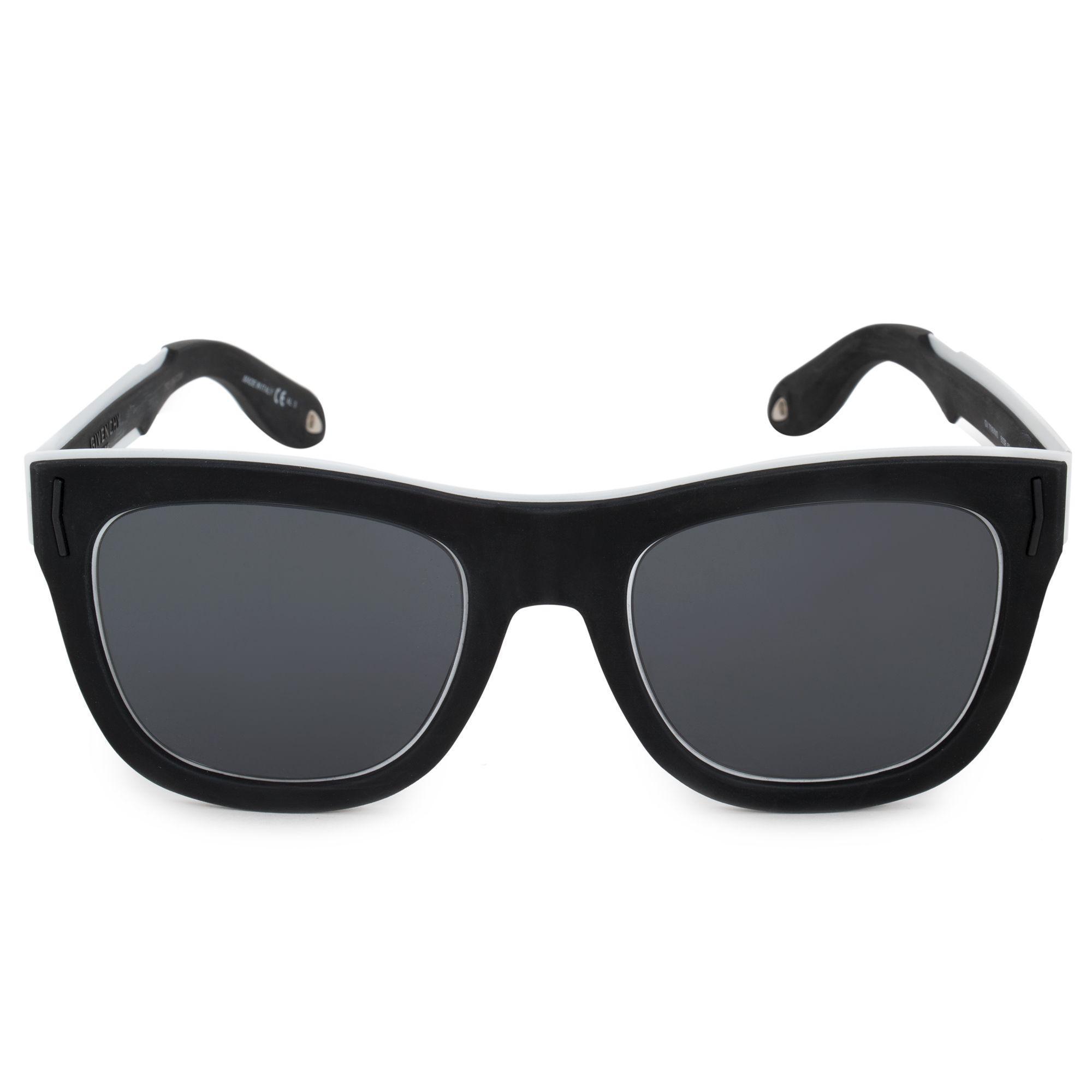 8ad1051ba83c Lyst - Givenchy Wayfarer Sunglasses Gv7016/s N 80s/ir 52 in Black