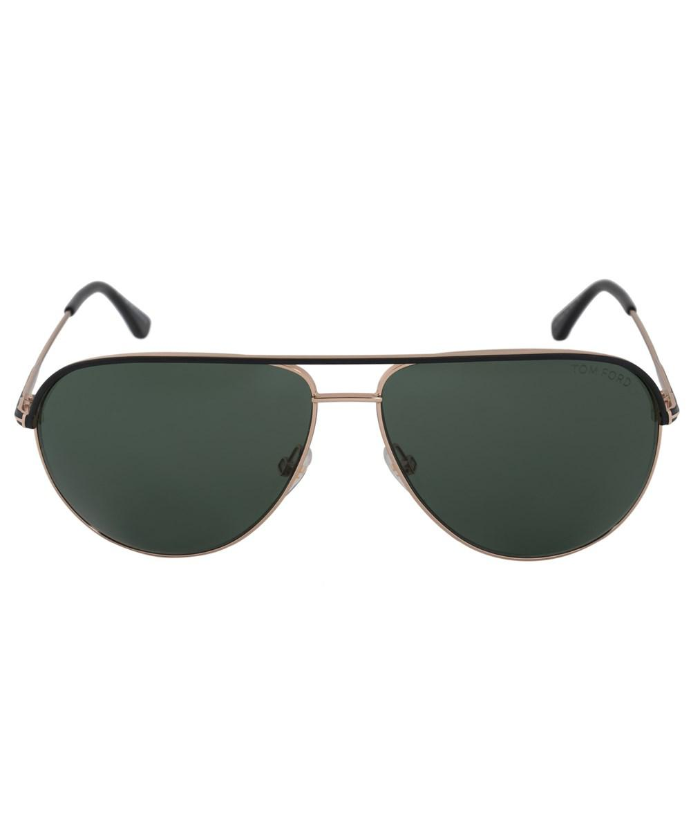 284c6df26d0 Lyst - Tom Ford Erin Aviator Sunglasses Ft0466 05n 59
