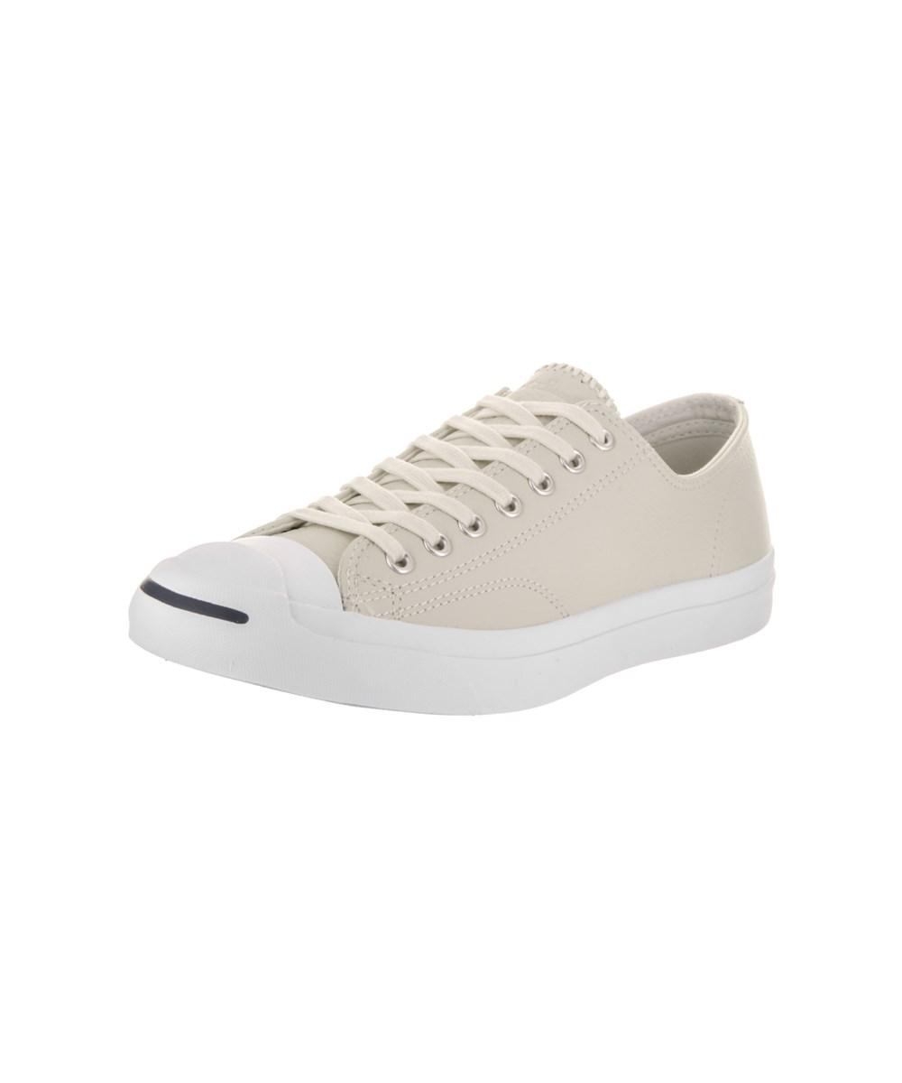 Lyst - Converse Unisex Jack Purcell Jack Ox Casual Shoe in White for Men 15a574d8f