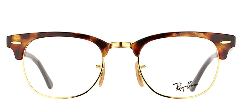 eeb50970802f Ray-Ban - Rx 5154 5494 49mm Brown Square Sunglasses - Lyst. View fullscreen