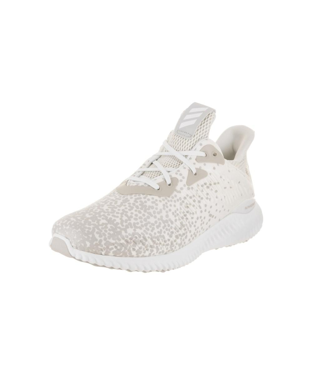 f6759501c Lyst - Adidas Women s Alphabounce 1 W Running Shoe in White