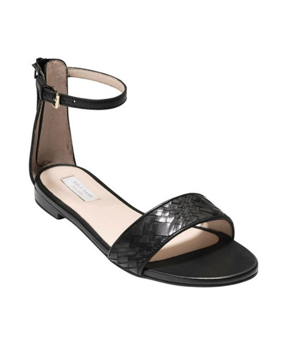 Cole Haan Genevieve Weave Ankle Strap Sandal (Women's) GUPp9Hkj