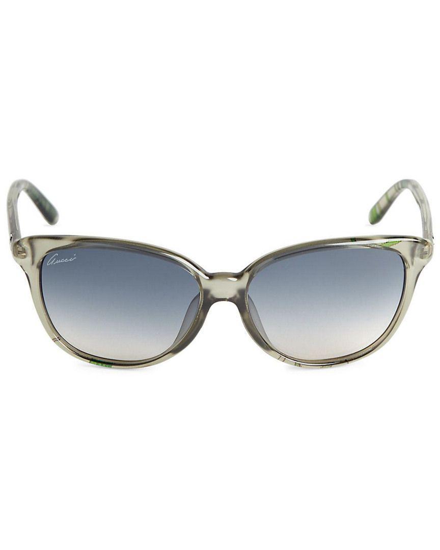 208b0f958c7 Lyst - Gucci 57mm Gradient Cat s Eye Sunglasses
