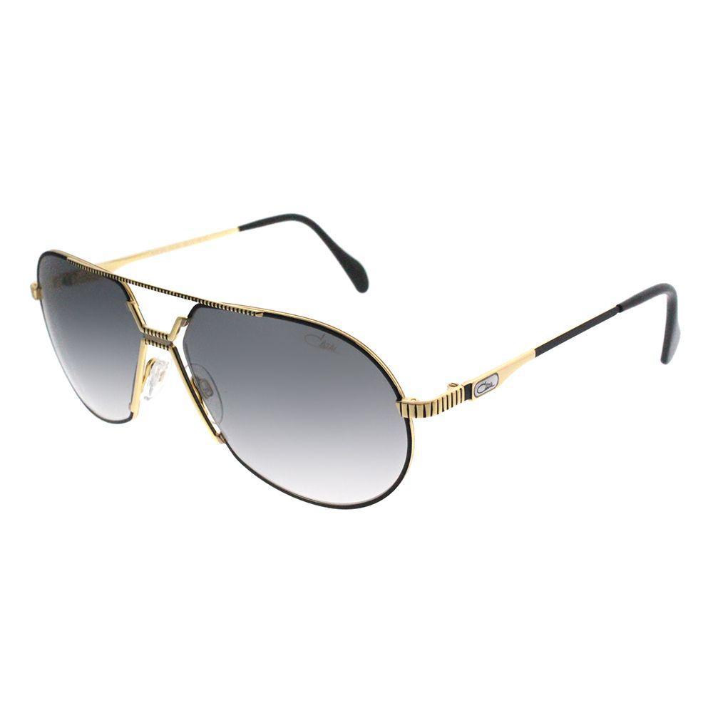 18c85c617a Lyst - Cazal 968 001sg Black Oval Sunglasses in Black