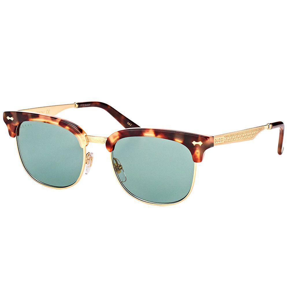 1c6d2c9c6f73 Gucci. Women's Gg 0051s 002 Havana Fashion Sunglasses