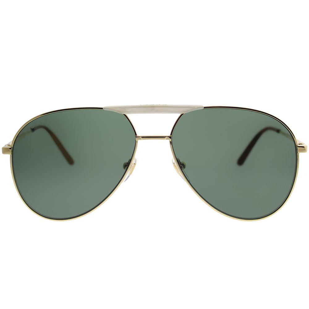 a8e99142dd6 Gucci - Multicolor Gg0242s 003 Gold Aviator Sunglasses - Lyst. View  fullscreen