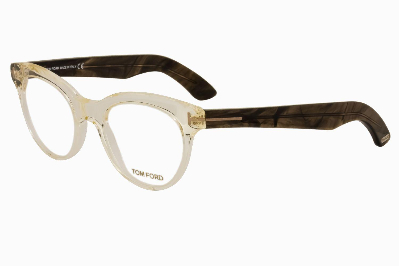 29fd1032272c1 Tom Ford - Multicolor Ft5378 Shield Unisex Eyeglasses Crystal   Clear -  Lyst. View fullscreen
