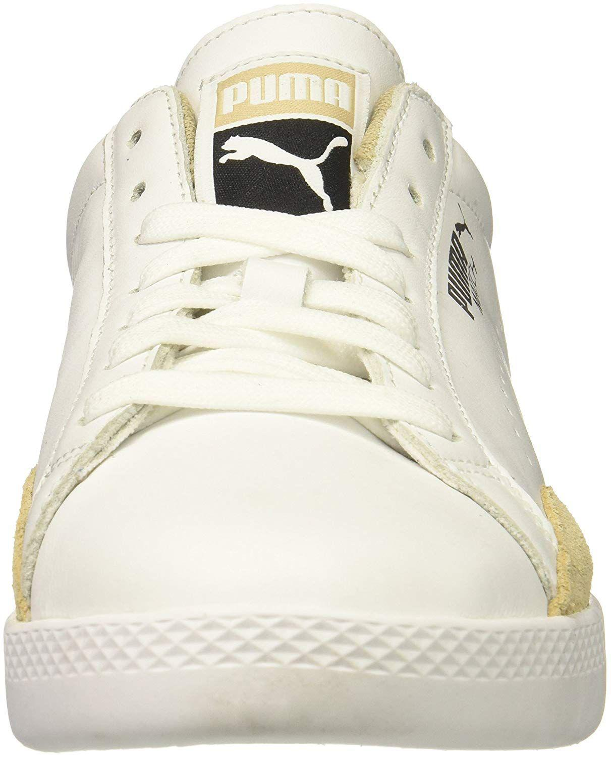 c3b4a177ad4c Lyst - Puma Womens Match Lo Leather Low Top Lace Up Running Sneaker