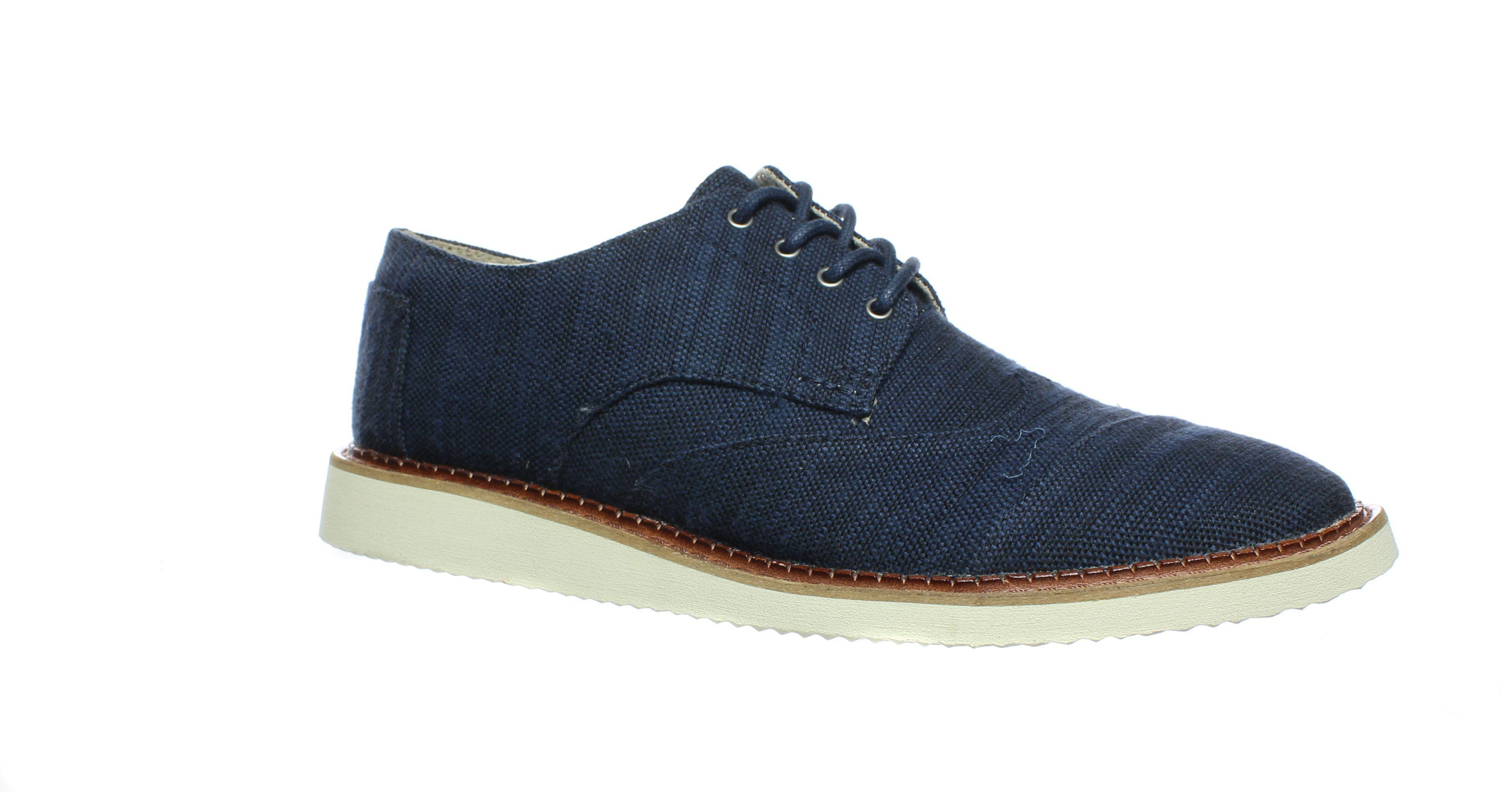 cca091b5c02 Lyst - Toms Mens Brogue Oxford Dress Shoe in Blue for Men
