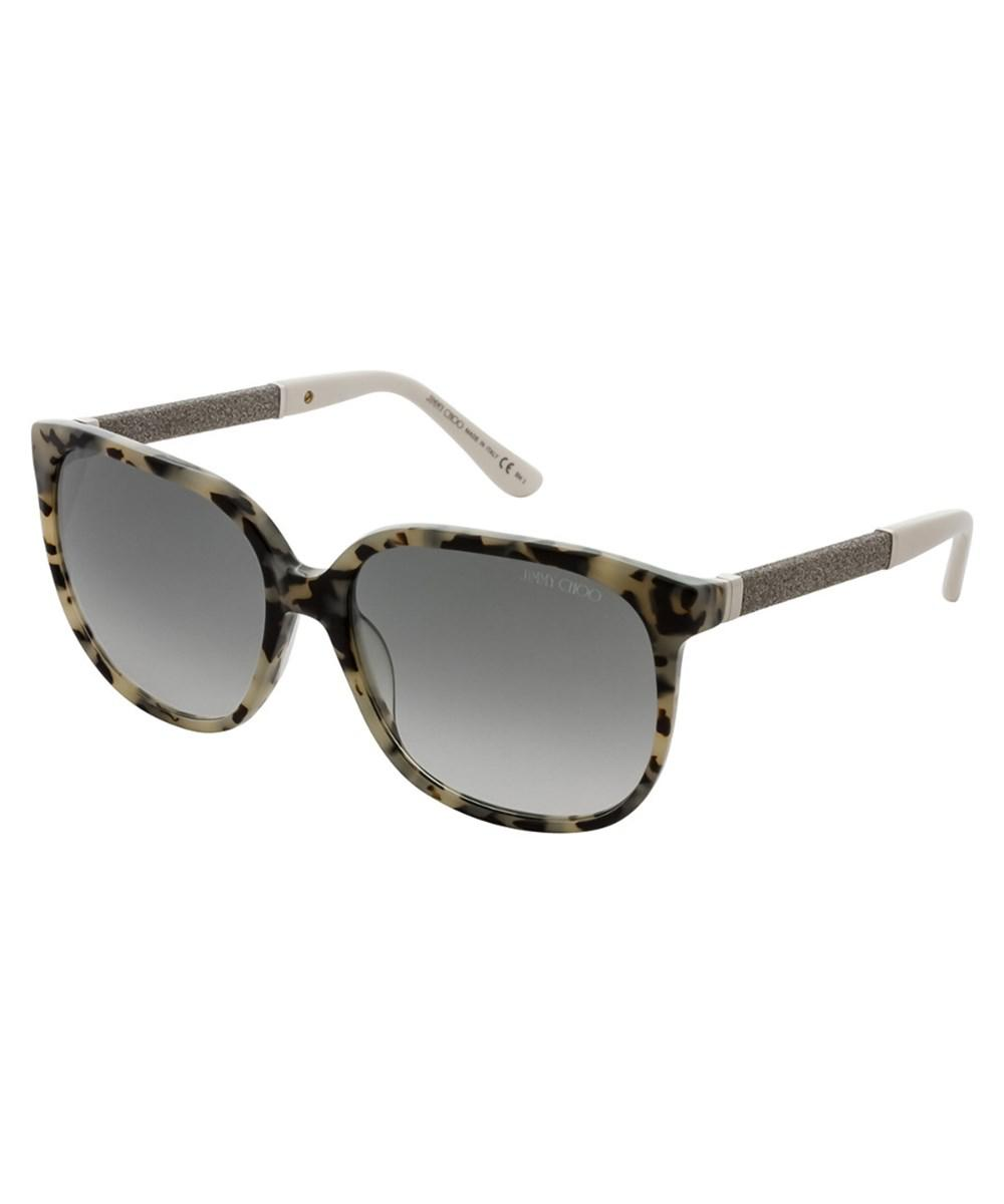 41b8612af10 Lyst - Jimmy choo Women s Paula s 57mm Sunglasses in Brown