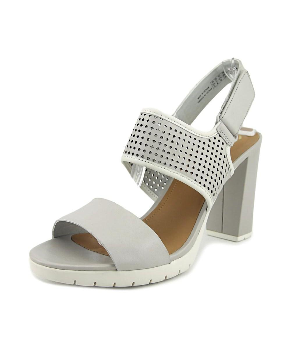 099b9e5ffc25 Lyst - Clarks Pastina Malory Women Open Toe Leather Gray Sandals in Gray