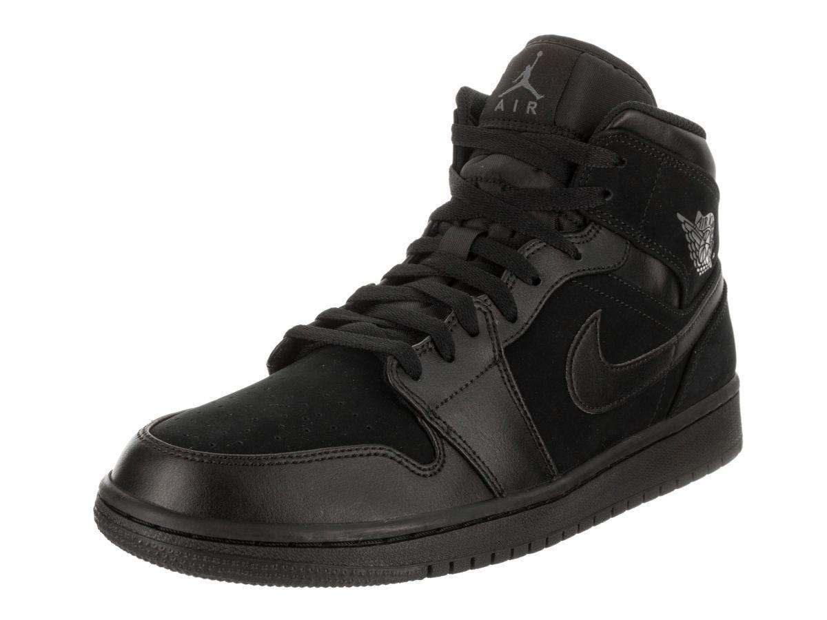 f667610558f6e2 Lyst - Nike Nike Men s Air 1 Mid Basketball Shoe in Black for Men