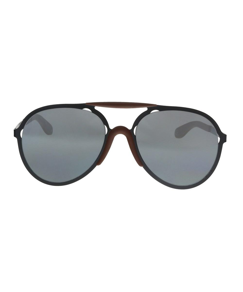 83456c209 Lyst - Givenchy Gv7039/s Pde Cn Black Brown Matte Aviator Sunglasses ...