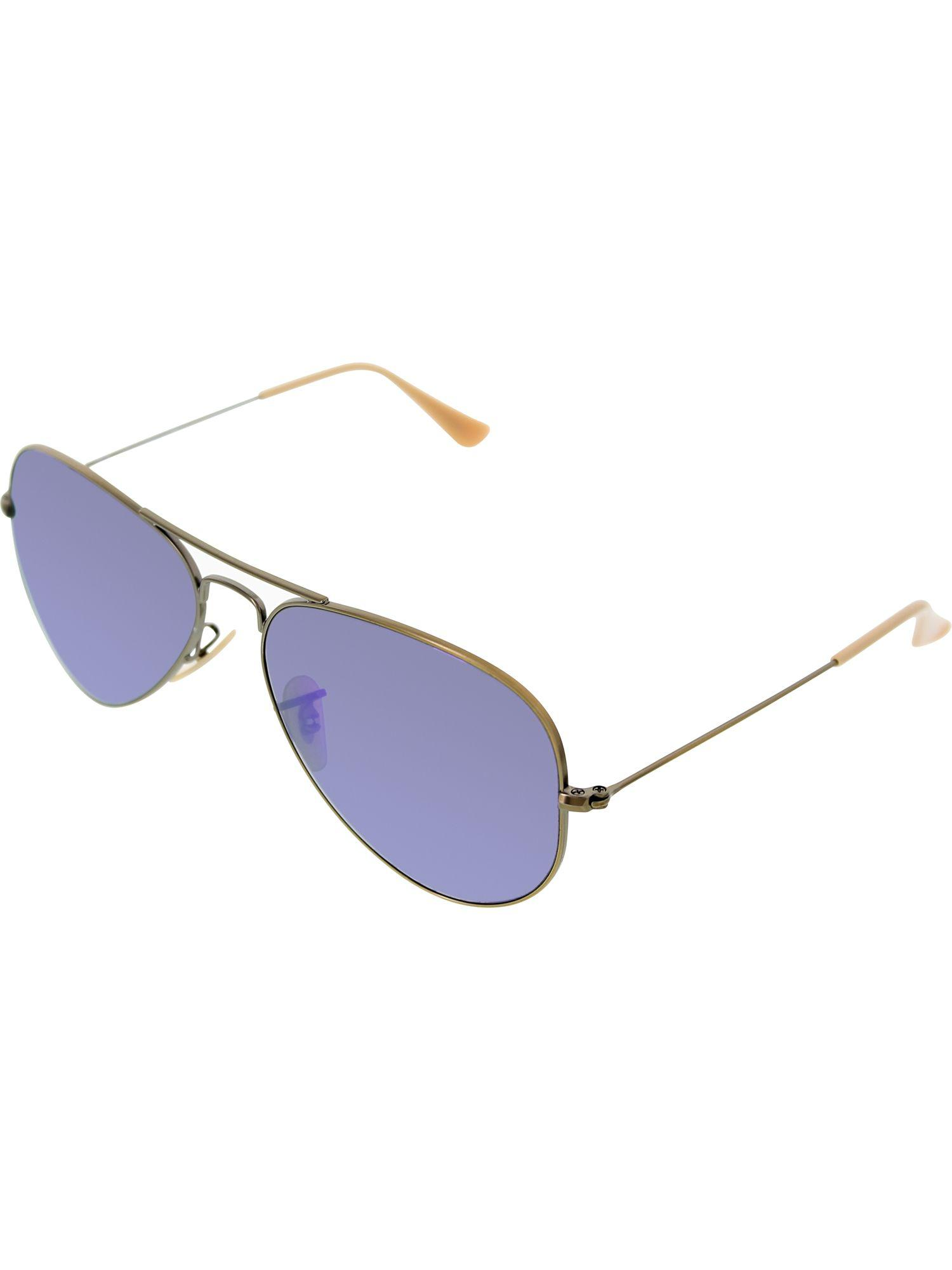 444018be04 Lyst - Ray-Ban Men s Mirrored Aviator Rb3025-167 1m-58 Gold ...