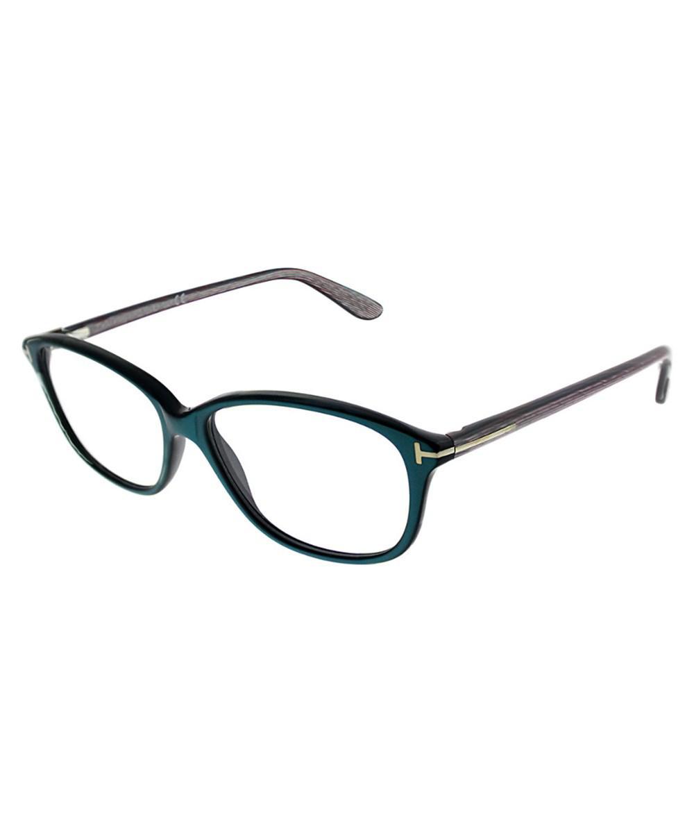 97edebdd64e0 Tom Ford Ft 5316 087 Turquoise Rectangle Eyeglasses - Lyst