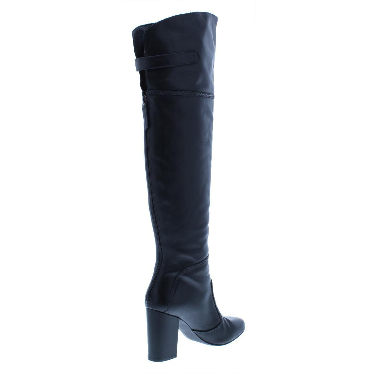 3b9ab081ae4 ... Womens Jena Leather Round Toe Over-the-knee Boots -. View fullscreen